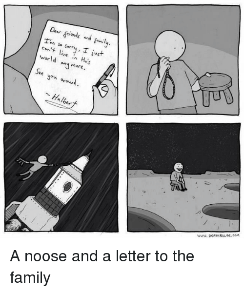 Ends M So Just Ve World In More You Bud A Noose And A Letter To