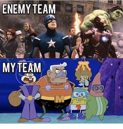 Memes, 🤖, and Team: ENEMY TEAM  Op