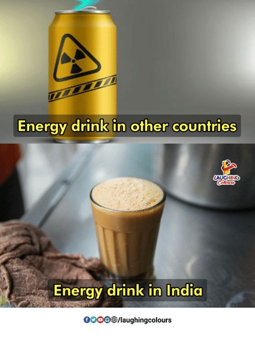 Energy, Gooo, and India: Energy drink in other countries  GHING  Energy drink in India  GOOO®/laughingcolours