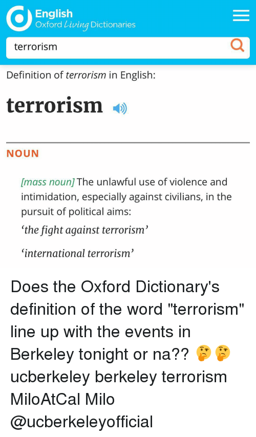 english oxford living dictionaries terrorism definition of terrorism in english 13555467 ✅ 25 best memes about oxford dictionary definition oxford