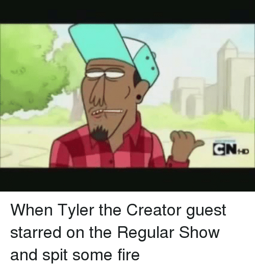 enhd c when tyler the creator guest starred on the 2088633 ✅ 25 best memes about regular show regular show memes