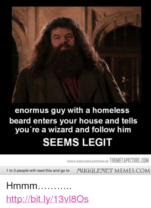 Enormus Guy With A Homeless Beard Enters Your House And Tells You Re