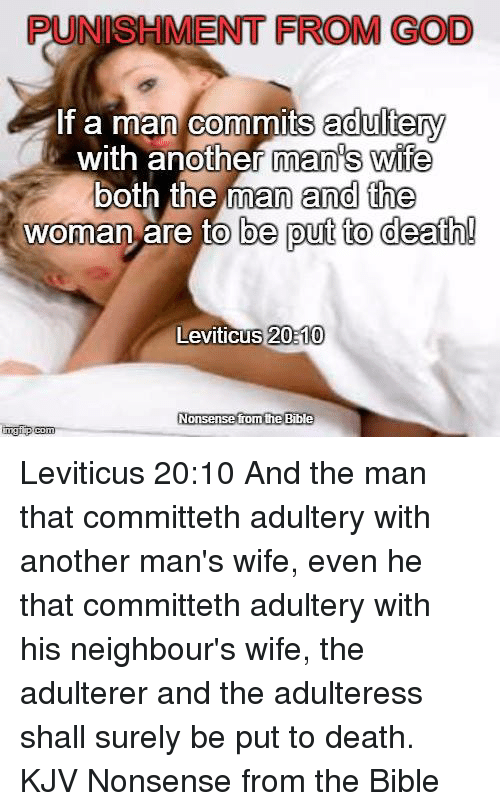 ENT FROM GOD if a Man Commits Adultery With Another Man's