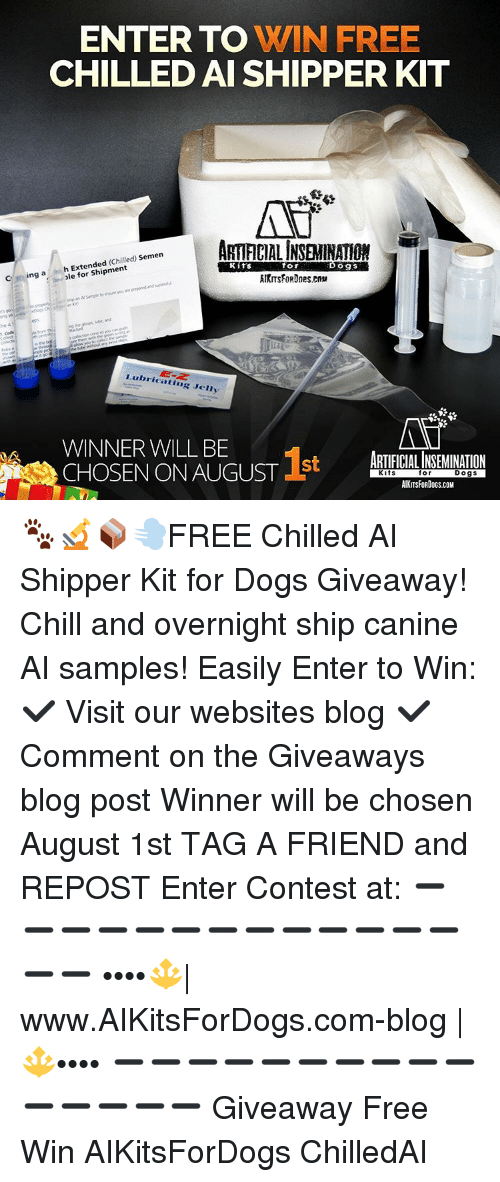 fc9463dd Memes, 🤖, and Jelly: ENTER TO WIN FREE CHILLED AI SHIPPER KIT  ARTFICIALINSEMINATON