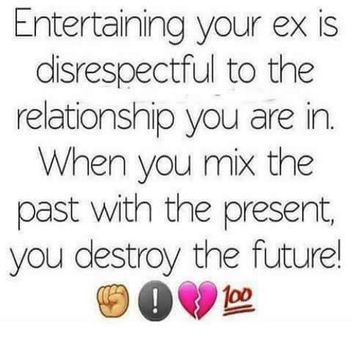Disrespect in a relationship