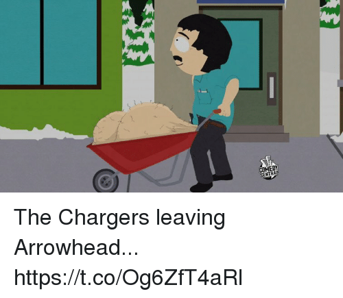 Football, Nfl, and Sports: ENTRAL The Chargers leaving Arrowhead... https://t.co/Og6ZfT4aRl