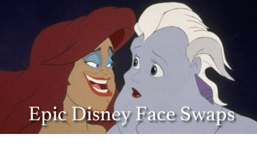 Epic, Face, and Faced: Epic Disney Face Swaps