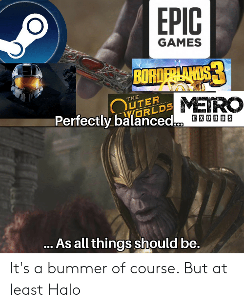 EPIC GAMES BOR DS UTER ORLDS MEIRO THE Perfectly Balanced SX