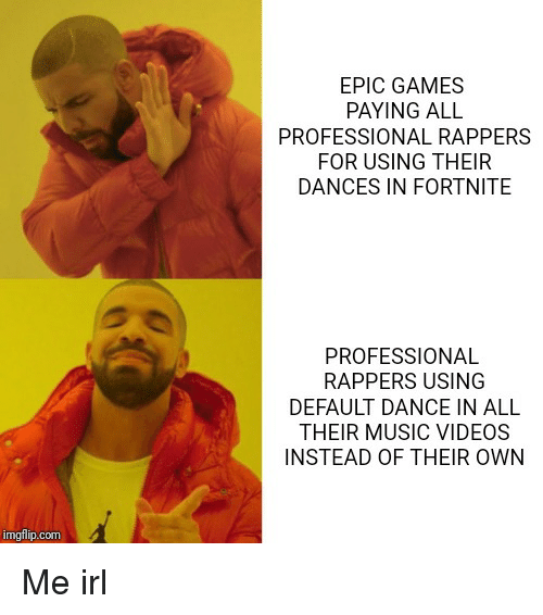EPIC GAMES PAYING ALL PROFESSIONAL RAPPERS FOR USING THEIR
