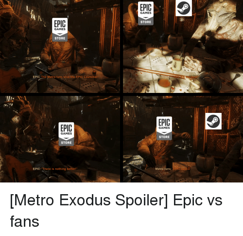 EPIC GAMES STORE GAMES STORE EPIC the Metro Fans Love the EPIC