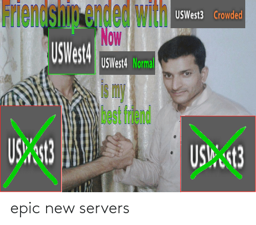 Epic, New, and Servers: epic new servers