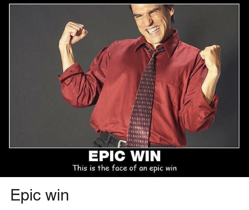 epic win this is the face of an epic win 28047751 epic win this is the face of an epic win terrible facebook meme on