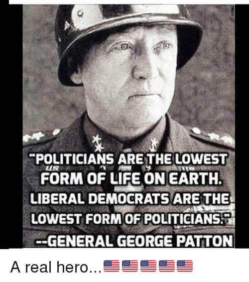 Epoliticians Arethe Lowest Form Of Life Onearth Liberal Democrats
