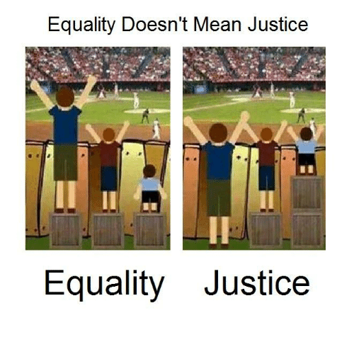 Equality Doesnt Mean Justice >> Equality Doesn T Mean Justice Equality Justice Meme On Me Me