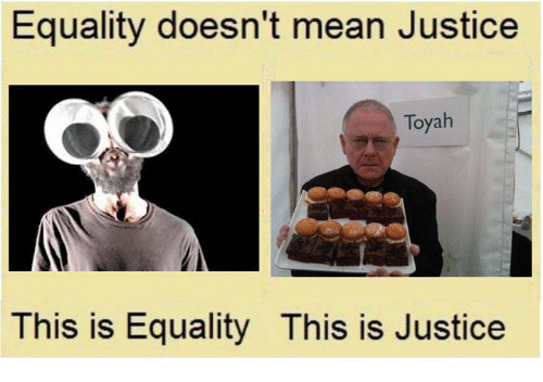 Equality Doesnt Mean Justice >> Equality Doesn T Mean Justice Toyah This Is Equality This Is Justice