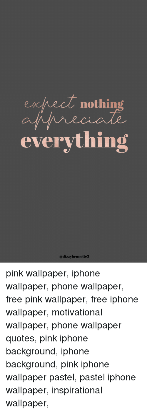 Eredt Nothing Everything Pink Wallpaper Iphone Wallpaper ...