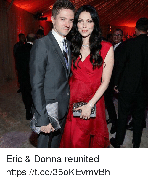 Memes, 🤖, and Amp: Eric & Donna reunited https://t.co/35oKEvmvBh