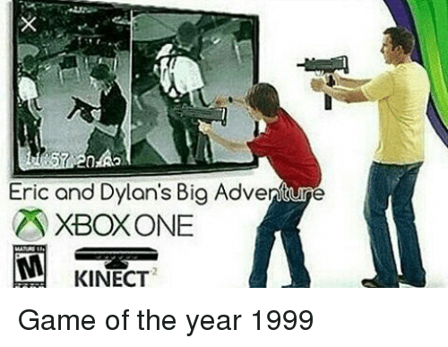 Eric and Dylan's Big Adventure ZR XBOXONE KINECT Game of the