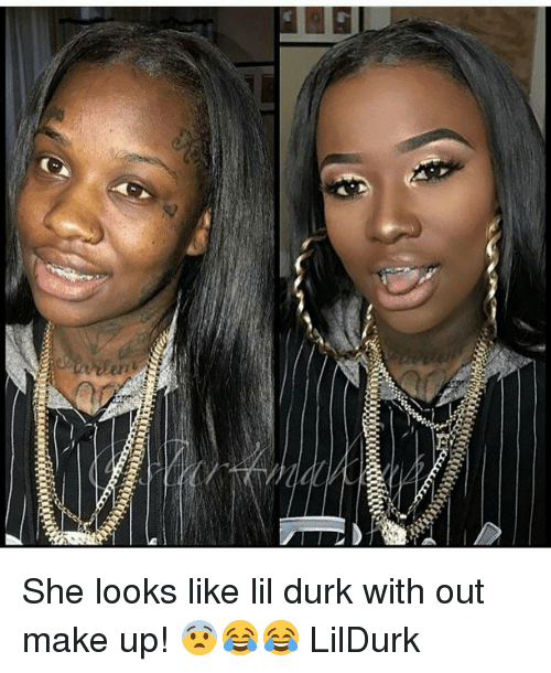 Es She Looks Like Lil Durk With Out Make Up Lildurk Lil