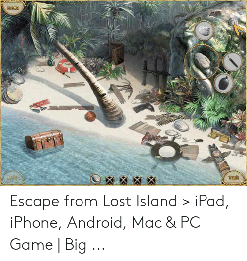 Escape From Lost Island > iPad iPhone Android Mac & PC Game
