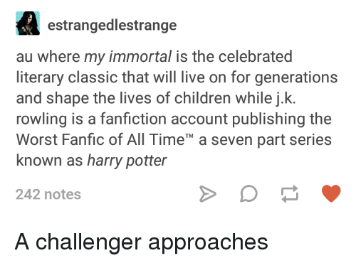 Immortal Naruto Harry Potter Fanfiction
