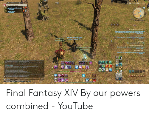 ET 324 Pm LT 1114 Am Here There Be Xaela Lv65 Emera Carbuncle Wanca
