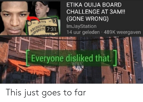 ETIKA OUIJA BOARD CHALLENGE AT 3AM! GONE WRONG OULJA NO YES