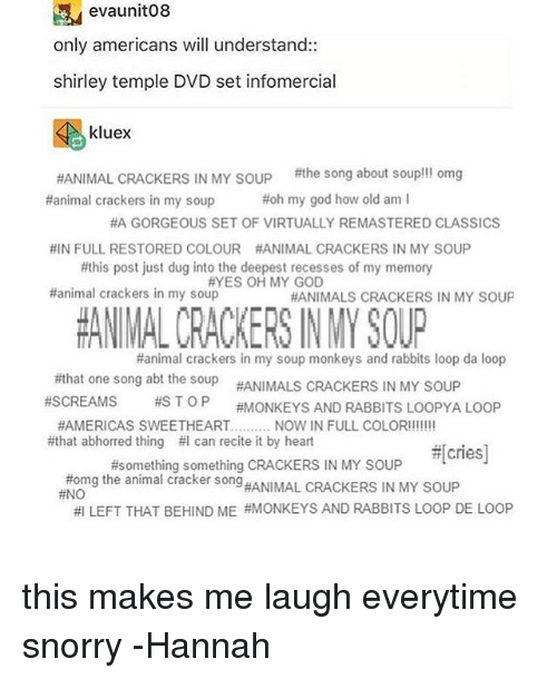 Evaunit08 Only Americans Will Understand Shirley Temple Dvd Set