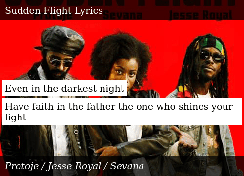 SIZZLE: Even in the darkest night  Have faith in the father the one who shines your light