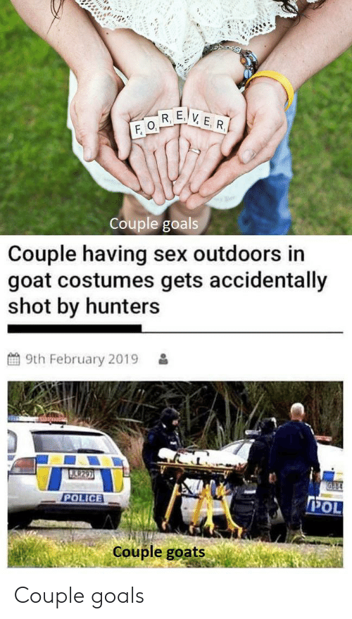 Ever F R F O Couple Goals Couple Having Sex Outdoors In Goat