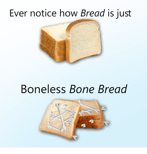 flirting meme with bread without bread pudding from scratch