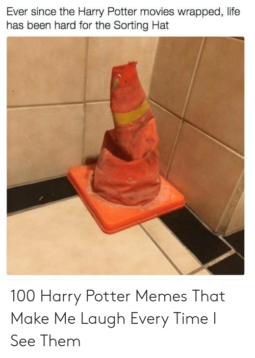Harry Potter, Life, and Memes: Ever since the Harry Potter movies wrapped, life  has been hard for the Sorting Hat 100 Harry Potter Memes That Make Me Laugh Every Time I See Them