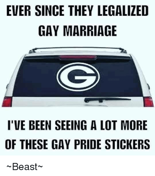 from Turner go for gay marriage