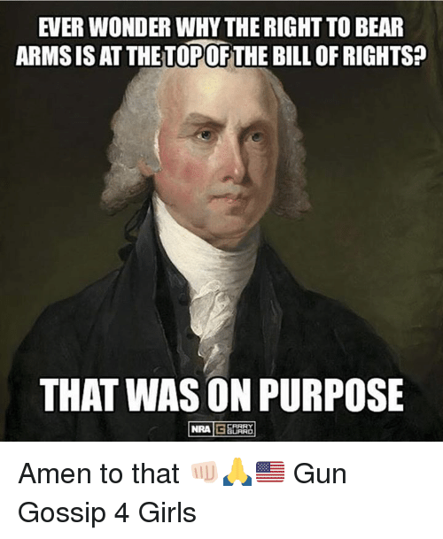 ever wonder why the right to bear arms is at 25309621 ✅ 25 best memes about the right to bear arms the right to bear,The Right To Bear Arms Meme