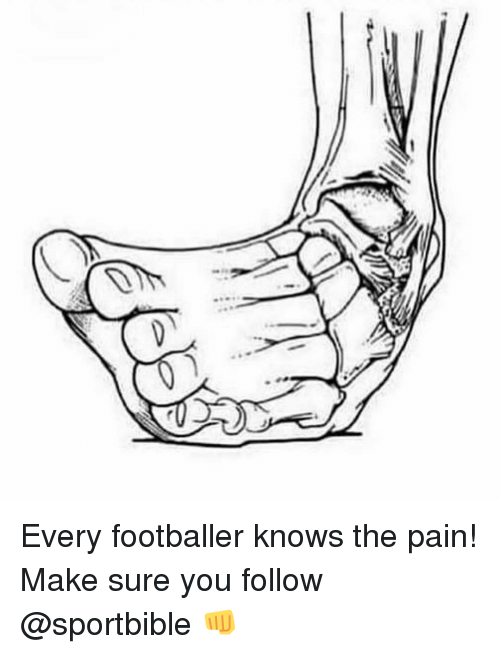 Memes, Pain, and 🤖: Every footballer knows the pain! Make sure you follow @sportbible 👊