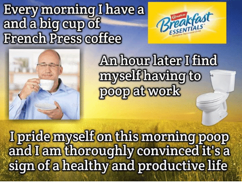 reshareworthy how to poop at work