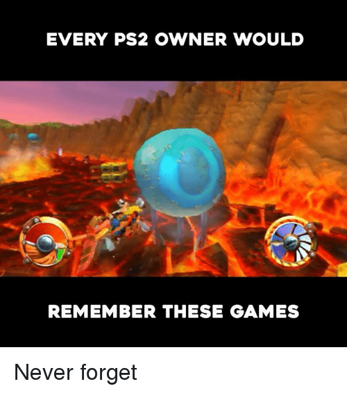 Video Games, Games, and Never: EVERY PS2 OWNER WOULD  REMEMBER THESE GAMES Never forget
