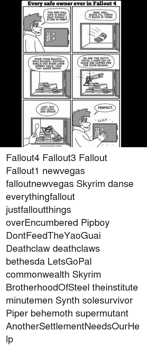 Every Safe Owner Ever in Fallout 4 THIS NEW WALL HMM WELL SAFE IS