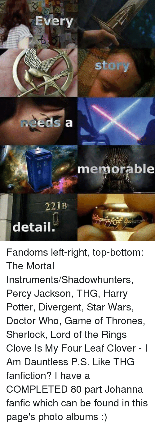 Every Sto Eeds a Memorable 221B Detail Fandoms Left-Right Top-Bottom