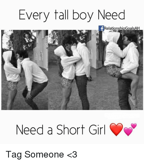 Short Girl Tall Boy