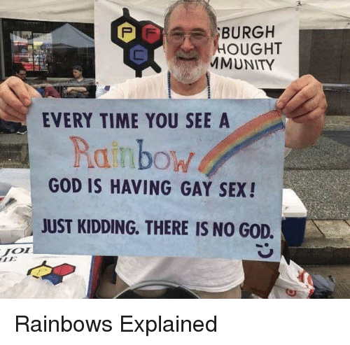 Really. sex and rainbows join told