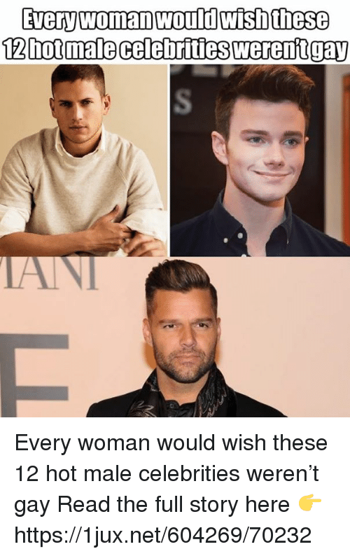 German (Language), Celebrities, and Net: Every woman would wish these  12hot malecelebrities werentgay Every woman would wish these 12 hot male celebrities weren't gay Read the full story here 👉 https://1jux.net/604269/70232