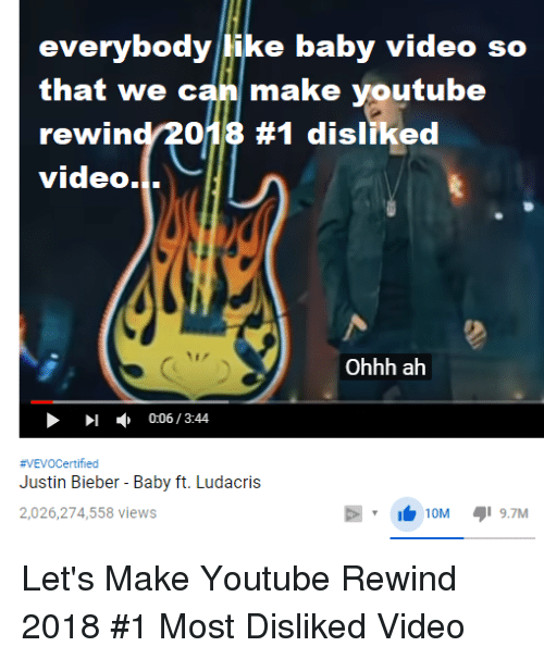 Songs Justin Bieber Ludacris And Youtubecom Everybody Like Baby Video So That The Falconers Voice Everybody Like Baby Video So That We Can Make Youtube Rewind2013 1