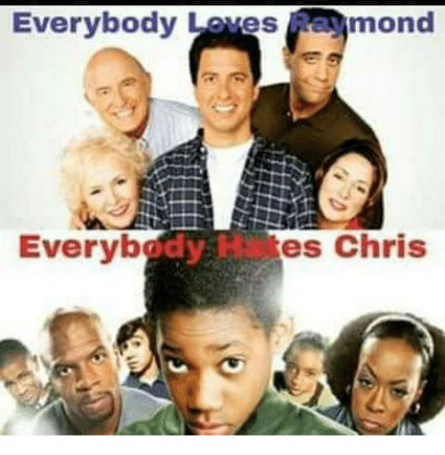 Everybody Hates Chris, Memes, and 🤖: Everybody Loves aymond<br/><br/> Everybody Hates Chris