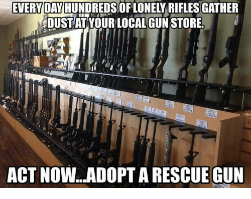 everyda riflesgather dustat your local gun store act no gun 14694678 ✅ 25 best memes about gun store gun store memes