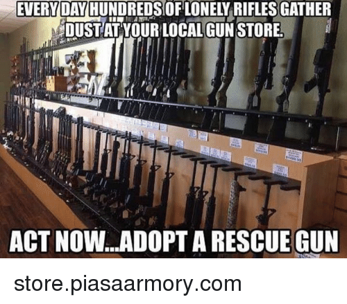 Everyday Hundredsorilonely Rifles Gather Mdustat Your Local Gun