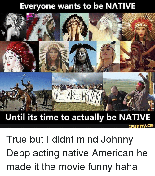 Everyone Wants To Be NATIVE NAN Until Its Time To Actually