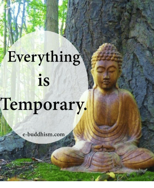 Memes, Buddhism, and 🤖: Everythin  1S  Temporary.  e-buddhism.comm