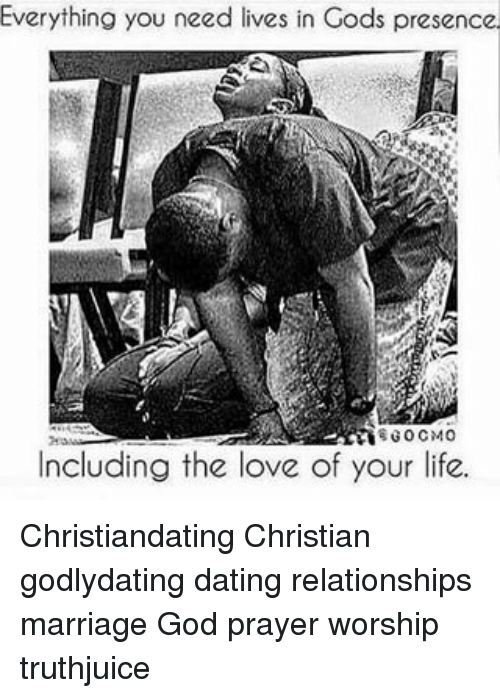 god and dating relationships