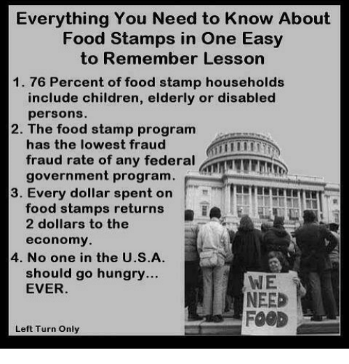 Image result for food stamps need children
